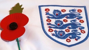 Royal British Legion urges Fifa to rethink poppy ban for England and Scotland players