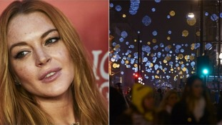 Lindsay Lohan previously said she wanted to turn on Kettering's Christmas lights