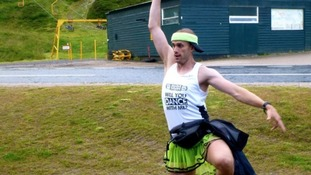Teacher and lecturer Ben Hammond is dancing his way from John O'Groats to Lands End.