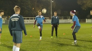 Taunton Town training