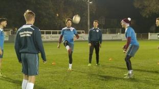 Taunton Town training