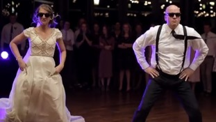 Father of the bride wedding dance goes viral thanks to unexpected routine
