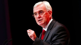 The shadow chancellor will speak at the North West regional conference in Blackpool on Saturday.