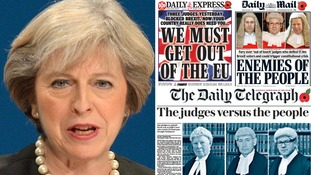 Theresa May is being urged to reassert that an independent judiciary is fundamental to democracy.