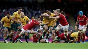 Australia thrash Wales in autumn international