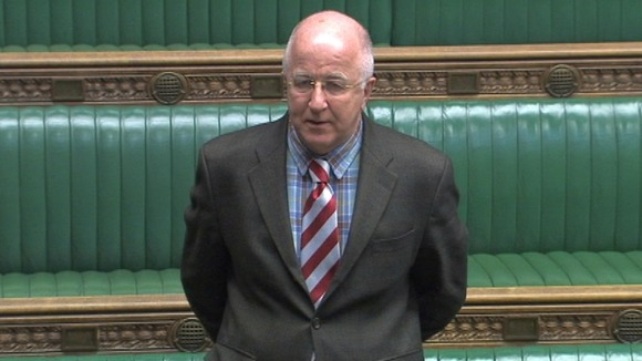 Denis MacShane in the House of Commons