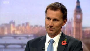 Jeremy Hunt said that the UK could be put into a worse negotiating position