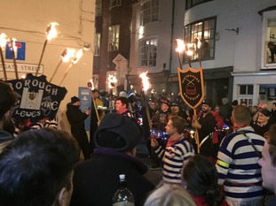 Procession in Lewes