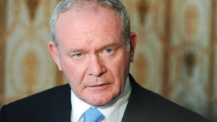 Northern Ireland's deputy First Minister Martin McGuinness