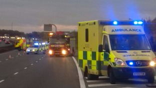 Crash on M40