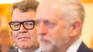 Tom Watson seemed to contradict comments made by Jeremy Corbyn