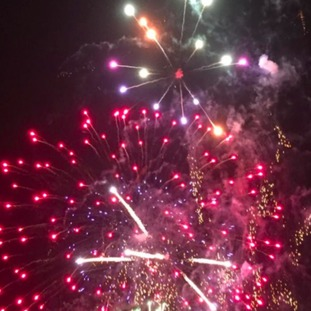 Fireworks in Wythall Park