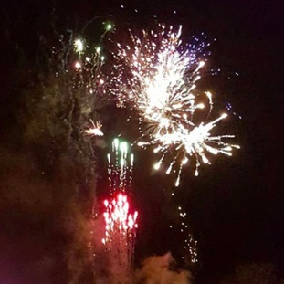 Fireworks in Leicester