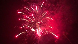 Edgbaston cricket ground fireworks