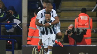 Premier League match report: Leicester 1-2 West Brom