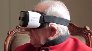 World War II veteran makes virtual return to scene of battle