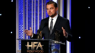 DiCaprio slams lack of climate change debate during US election