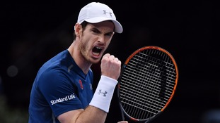 Judy Murray hails world number one Andy after 'incredible' year