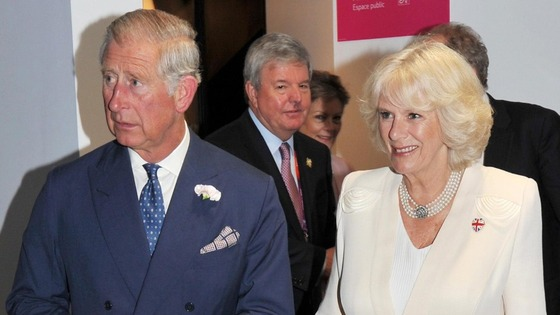 Charles Camilla Papa New Guinea