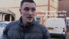 Tyler Johnstone, former HMP Bedford prisoner.