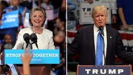 US election 2016: Trump and Clinton complete final day of campaigning