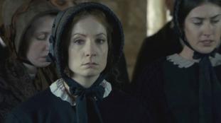 Joanne Froggatt who plays Mary Ann Cotton in ITV's crime drama Dark Angel.