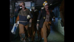 Miners at the pit