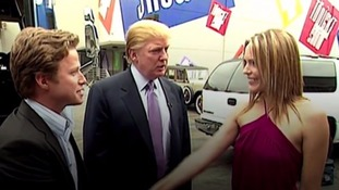 Trump was caught on tape making lewd comments in 2005.
