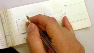 600 jobs losses in the cheque processing industry.