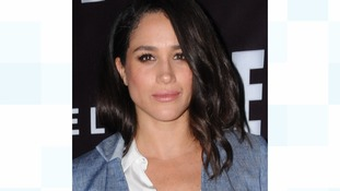 Prince Harry's girlfriend American actress Meghan Markle who has reportedly been harassed and abused by the press.