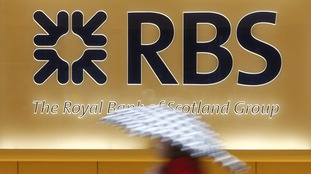 The headquarters of the Royal Bank of Scotland in the City of London.