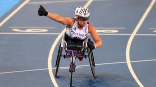 Hannah Cockroft won three golds at Rio