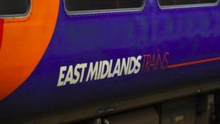TRAINS: EAST MIDLANDS TRAINS - NOTTINGHAMSHIRE