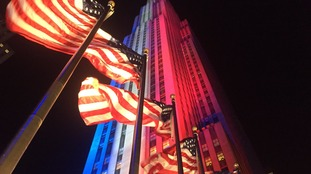ITV News will be broadcasting the US election results from Manhattan's Rockefeller Center.