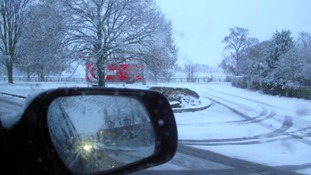 Warnings for drivers in the Midlands over snowy conditions