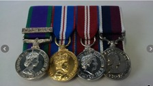 Search for owner of medals
