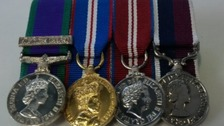 The medals