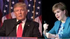 Sturgeon and Trump