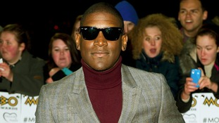 Labrinth arriving at the 2012 MOBO Awards