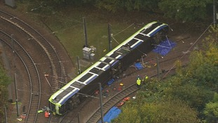 Croydon tram eyewitness: 'People were screaming and crying'.
