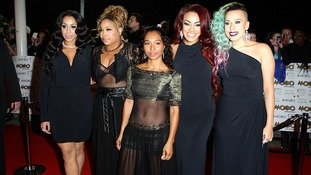 "Alex Buggs, Tionne ""Tboz"" Watkins, Rozanda ""Chilli"" Thomas, Karis Anderson and Courtney Rumbold arriving for the MOBO Awards 2012."