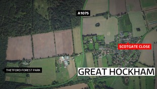 One person has died in a house fire in Great Hockham