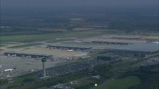 Stansted airport saw £2.1 million passenegrs passing through in October