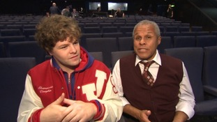 Jay McGuiness and Gary Wilmot