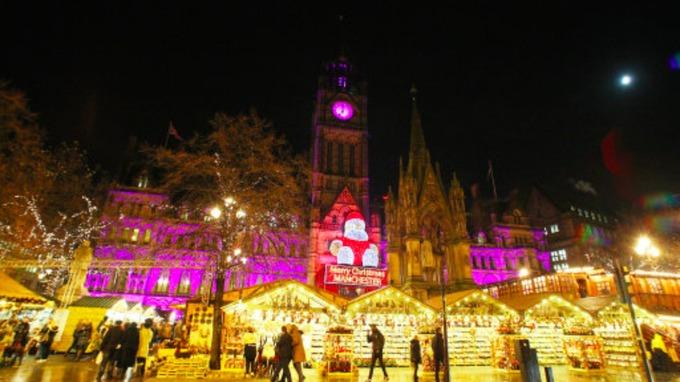 Manchester Christmas markets open | Granada - ITV News