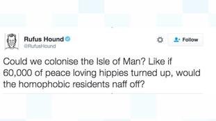 Rufus Hound tweet