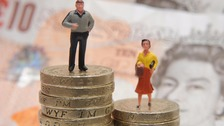 Women are still behind men when it comes to equal pay.