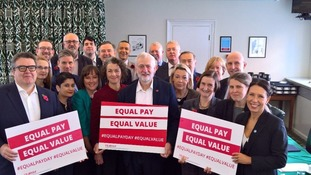 Jeremy Corbyn and other Labour figures