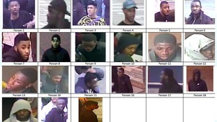 Police are asking members of the public to help identify a number of individuals