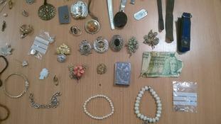 found jewellery